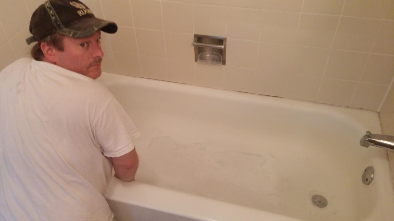 Amazing Tub Will Be Chemically Cleaned To Remove Residue And Then Sanded. ...